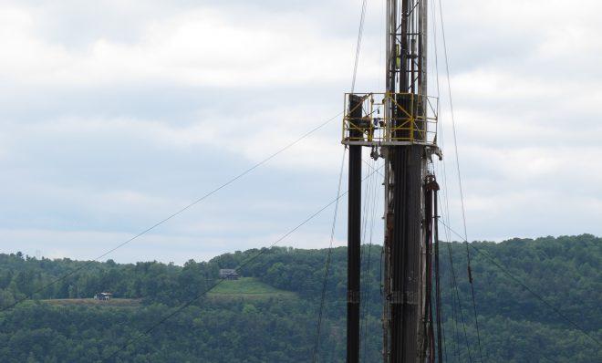 A Bradford County drilling rig