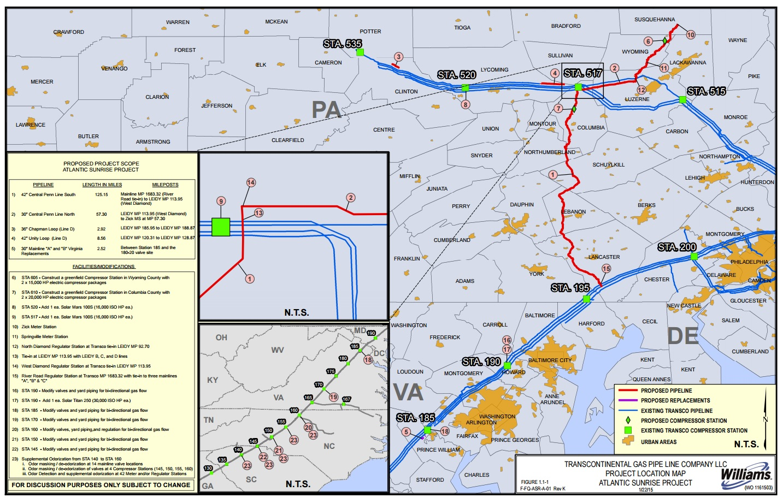 Atlantic Sunrise pipeline goes into full service this
