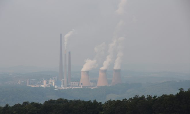 The Homer City power plant in Indiana, Pa.