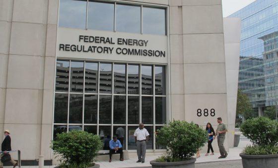 The FERC building in Washington D.C.