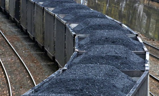 -A Norfolk Southern freight train hauling coal makes it way through downtown Pittsburgh Thursday, Jan. 26, 2017. The Department of Energy has proposed subsidizing coal and nuclear power in the face of competition from natural gas and renewables.