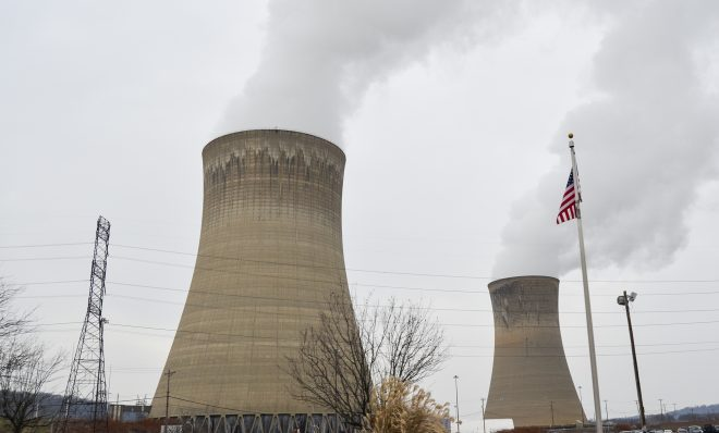 The Beaver Valley station generates electricity with nuclear power in Beaver County.