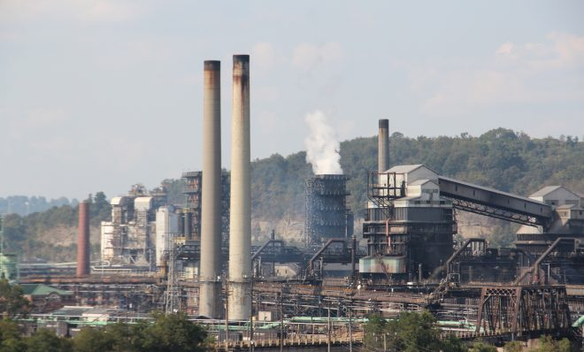 US Steel's Clairton Coke Works, near Pittsburgh.  Photo: Reid R. Frazier