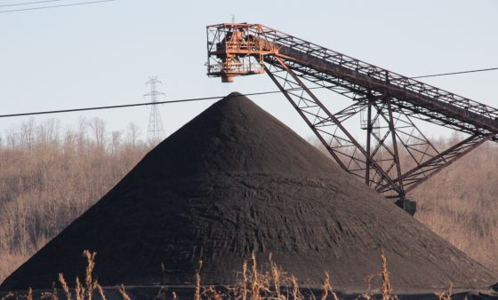 Coal being prepared for use in electric generation. Photo: Reid R. Frazier