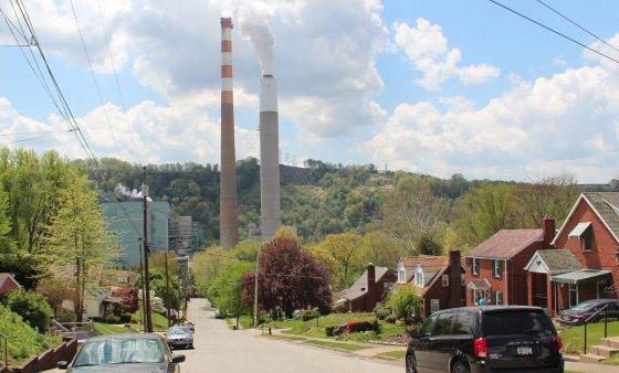 FILE PHOTO: Cheswick Generating Station in Springdale, Pa.