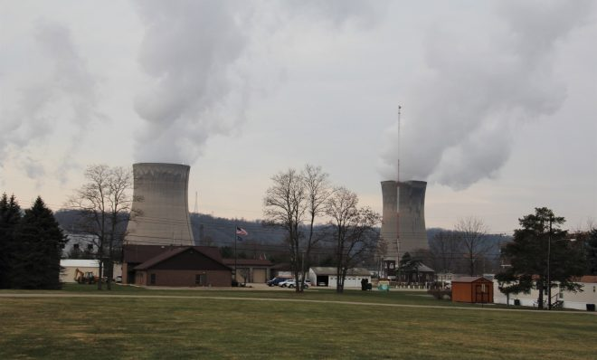 FirstEnergy's Beaver Valley Power Station in Shippingport, Pa. is scheduled to retire early, in 2021.