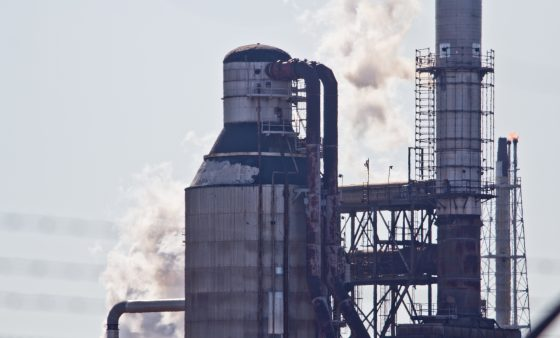 A smoke stack at the Philadelphia Energy Solutions refinery in Philadelphia. The company is seeing growing objections to its plan to emerge from bankruptcy but is expected to resolve them.