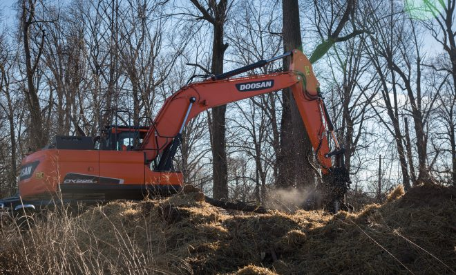 The Mariner East 2 pipeline has officially broken ground in the Delaware County town of Aston. The beginning stages of the pipeline includes clear cutting trees and preparing makeshift roads for the heavy machinery to traverse.