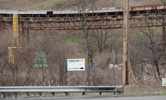 The Cumberland Mine in Greene County, Pa.