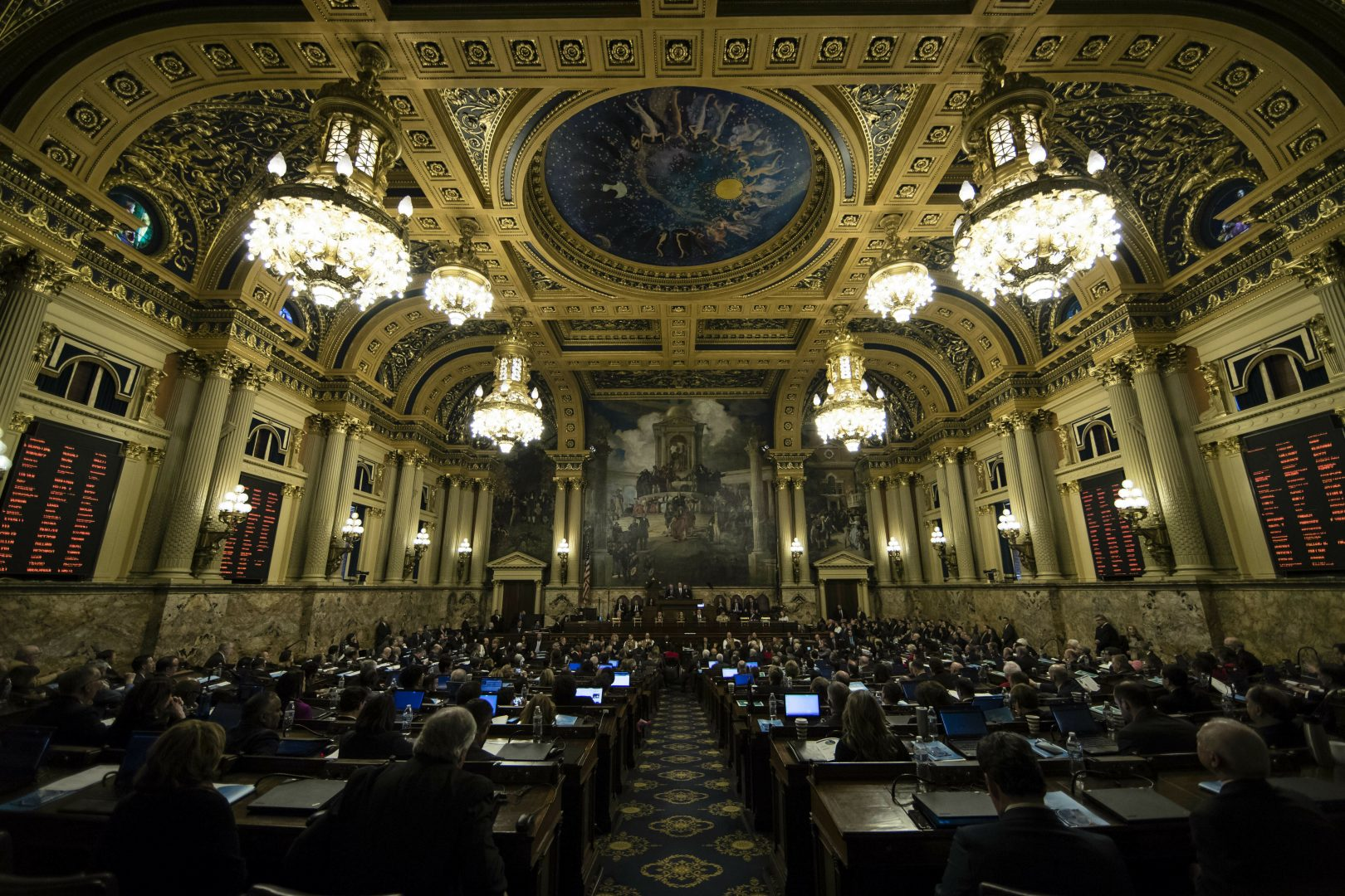 Lawmakers disclose their $362 million in spending last year | WITF