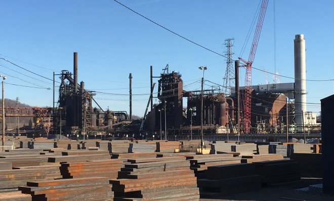 U.S. Steel's Edgar Thomson Plant is in the eastern Pittsburgh suburbs.