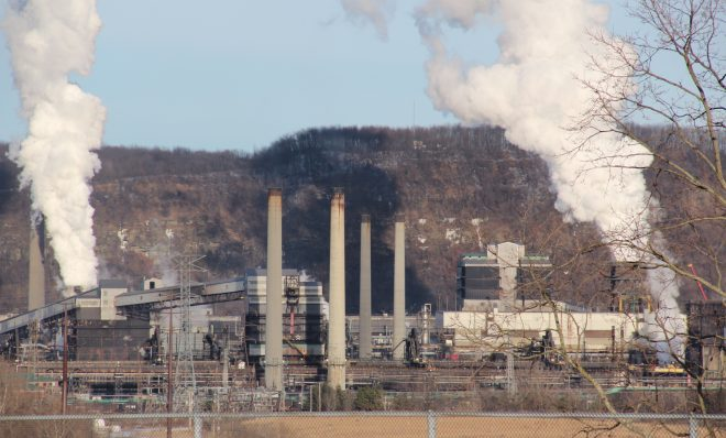 US Steel's Clairton Coke Works.
