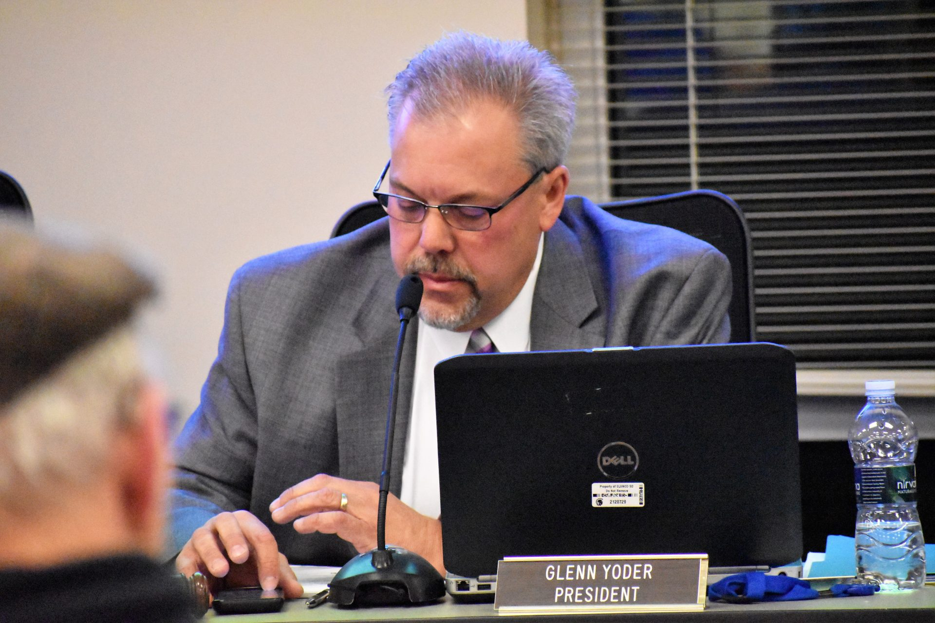 "Glenn Yoder, president of the Eastern Lancaster County school board, voted in favor of a ""biological sex"" policy on April 15, 2019."
