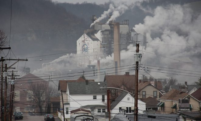 U.S. Steel's Clairton Plant, the largest coke works in North America, in Clairton, Pa. Photo: Reid R. Frazier