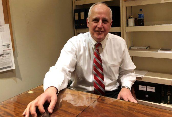 Delaware County Court of Common Pleas Judge Dominic Pileggi is seen on April 11, 2019.