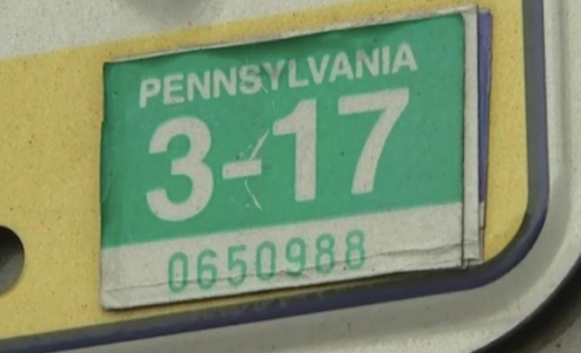 Returning To Stickers For Pa Car Registrations A Public