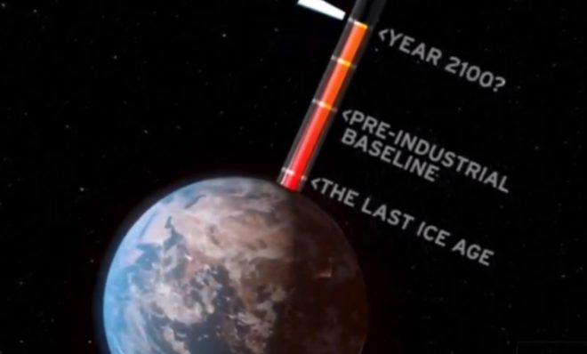 Climate scientists say a few degrees Celsius matters for climate change.