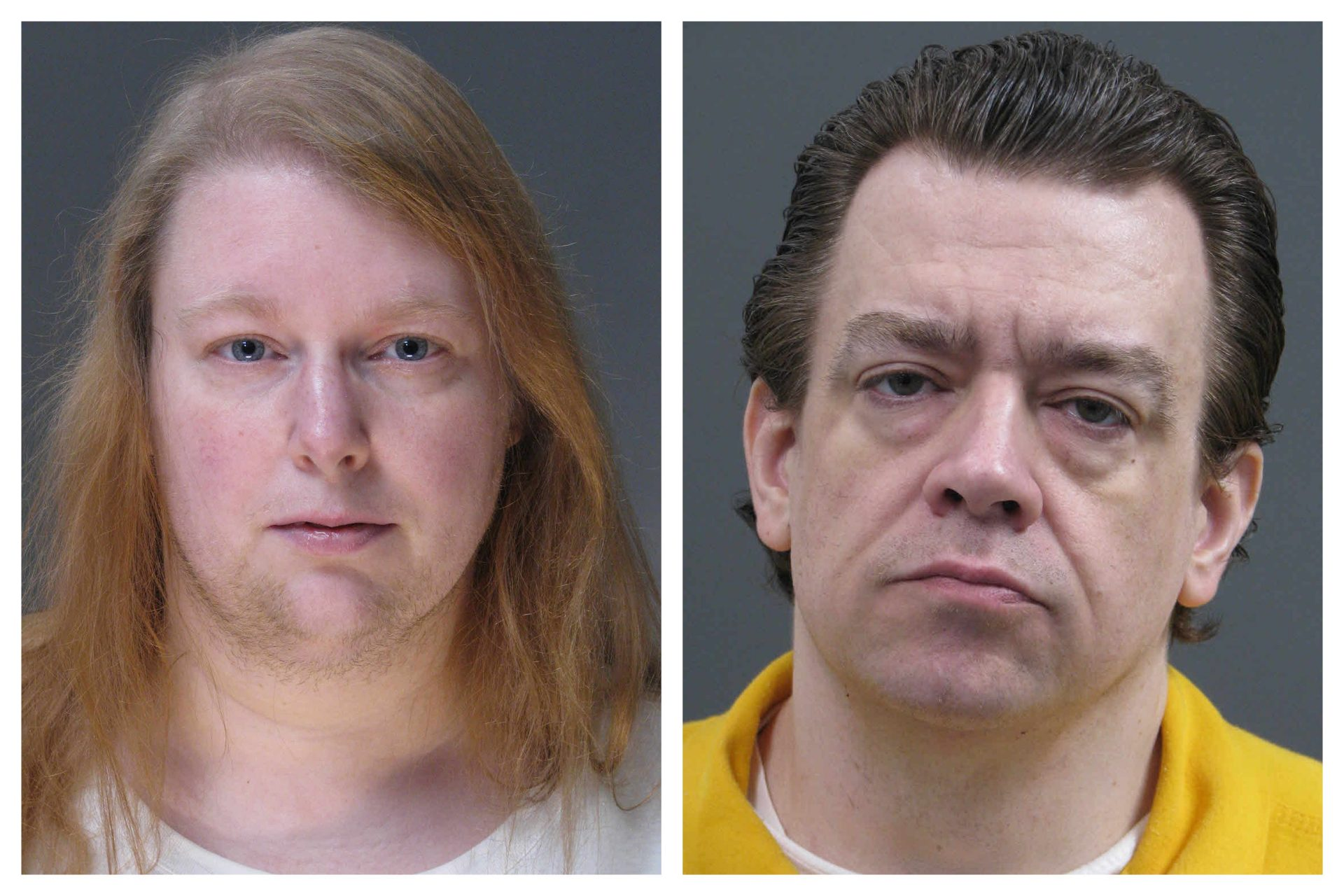 This combination of undated file photos provided Friday, March 29, 2019, by the Bucks County District Attorney's Office shows Sara Packer, left, and Jacob Sullivan.