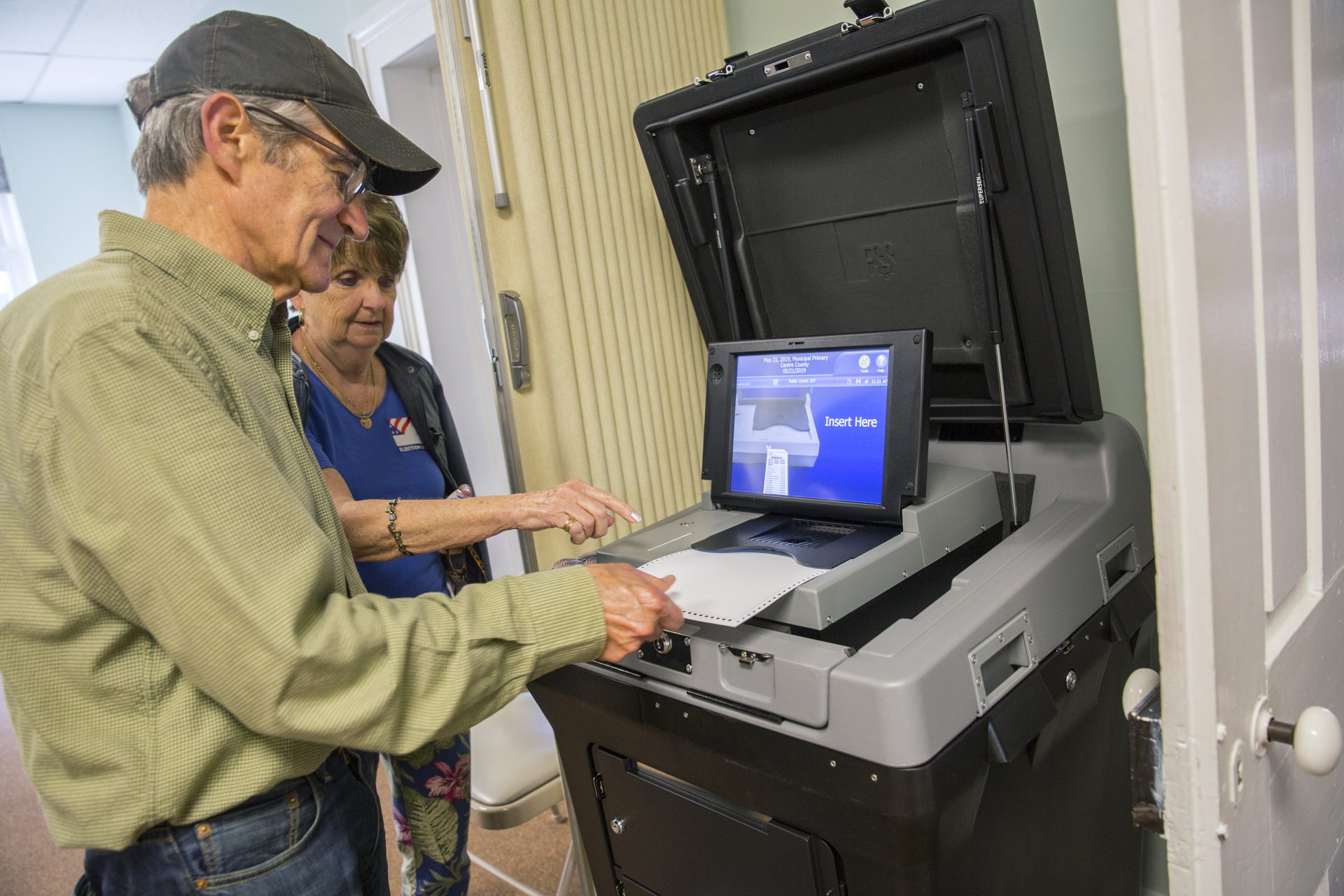 Centre County introduced new Electronic Systems & Software voting machines in the primary on May 21, 2019.