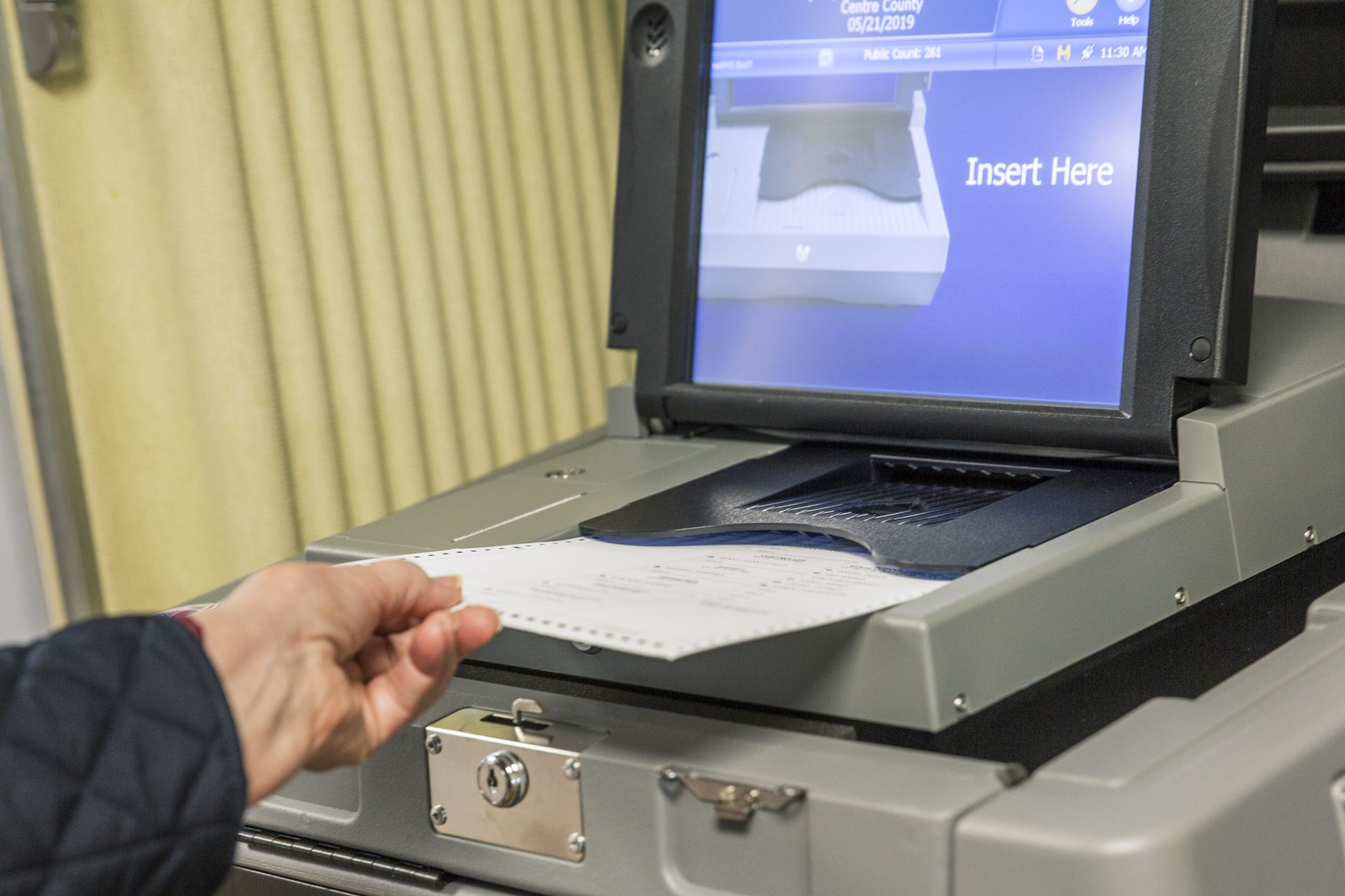 Centre County introduced new ES&S voting machines in the primary on May 21, 2019.
