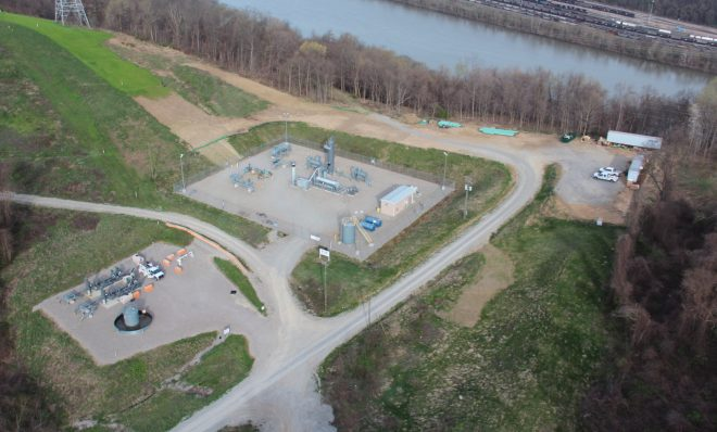 An oil and gas well in Forward Township, Allegheny County. Photo: Reid R. Frazier