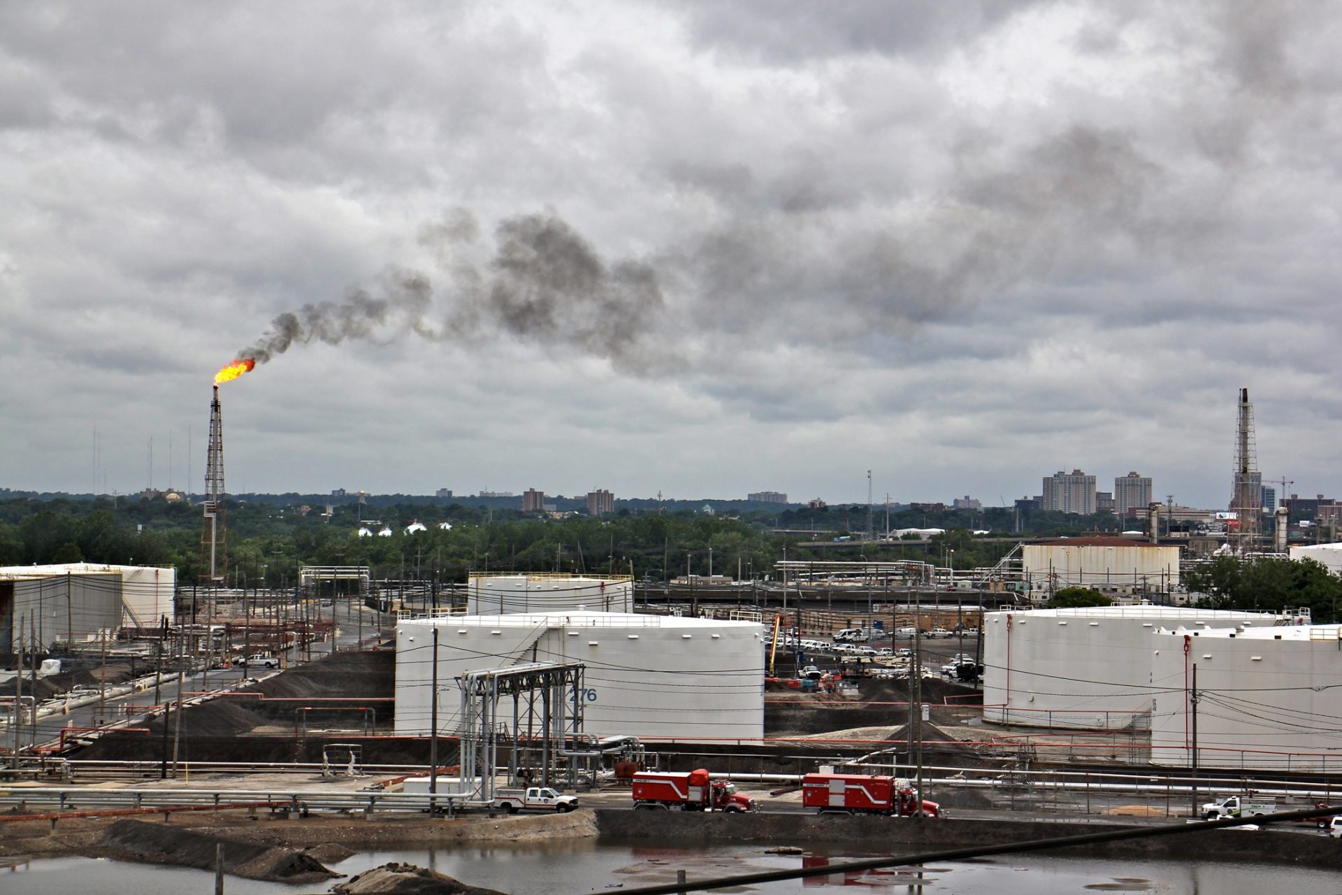 Philadelphia officials to convene working group on the PES refinery