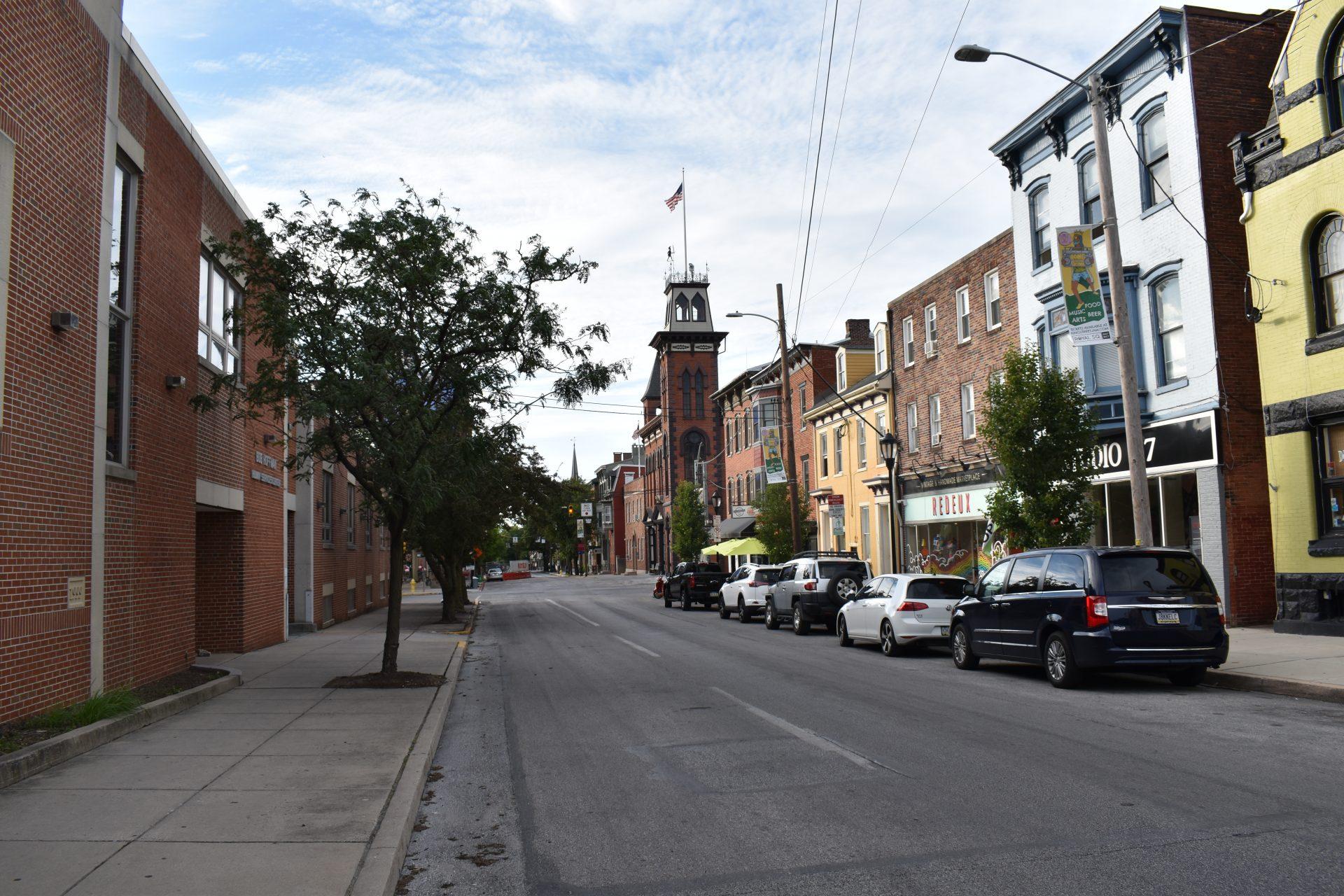 South Duke Street in York is seen on June 12, 2019.
