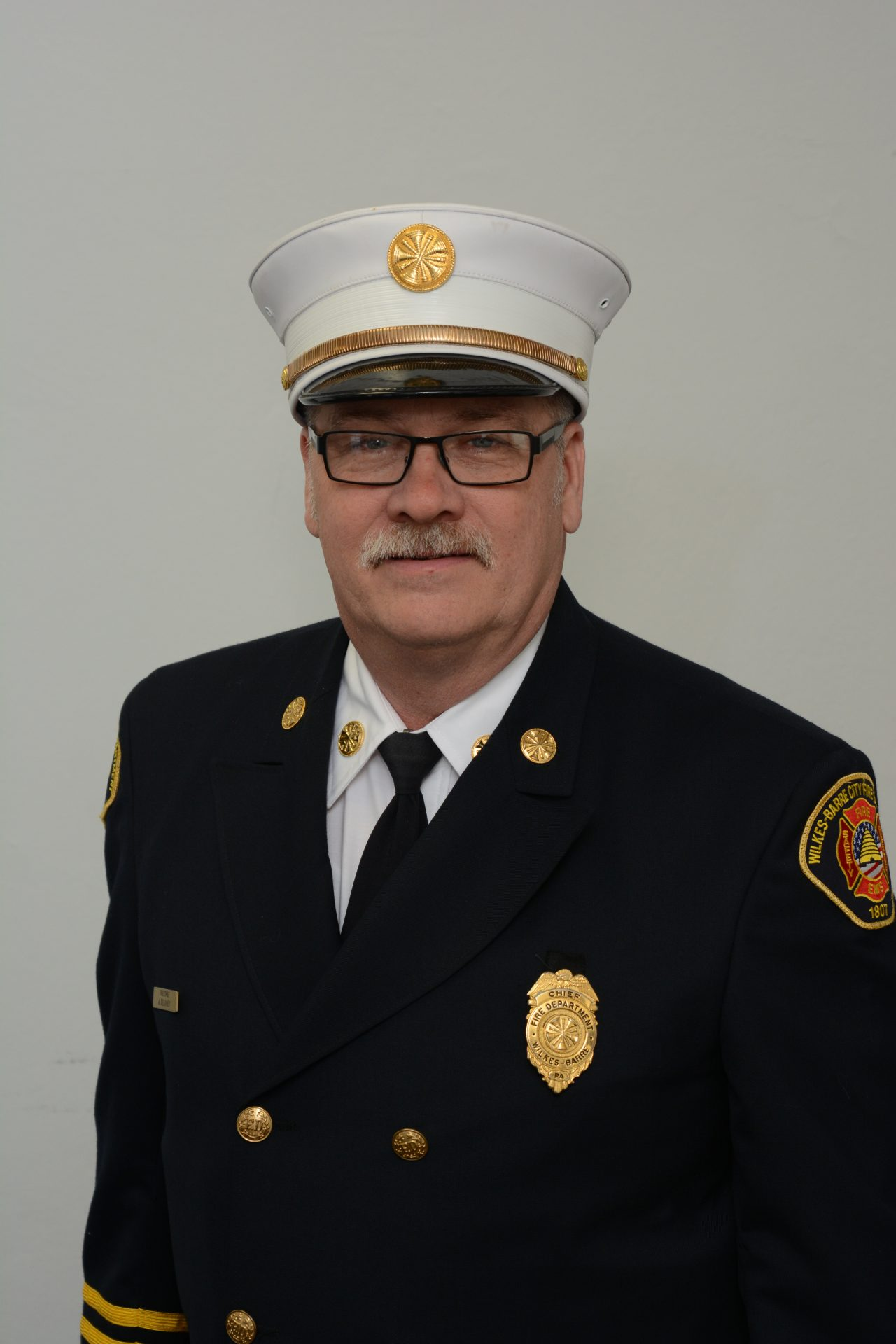 Jay Delaney is president of the Pennsylvania Career Fire Chiefs Association
