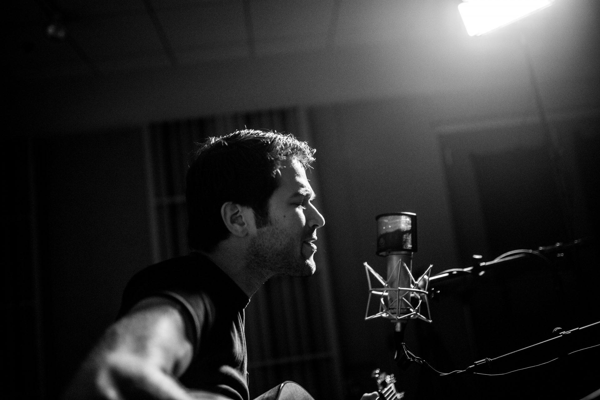 Ben Gallaher sings.