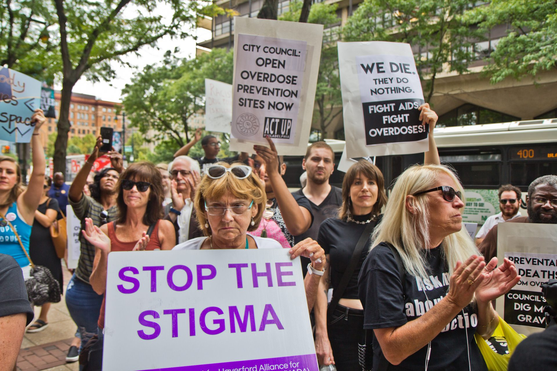 Safe injection site supporters in Philadelphia rallied outside a federal hearing Thursday to determine if the proposed Safehouse would violate the federal Controlled Substances Act.