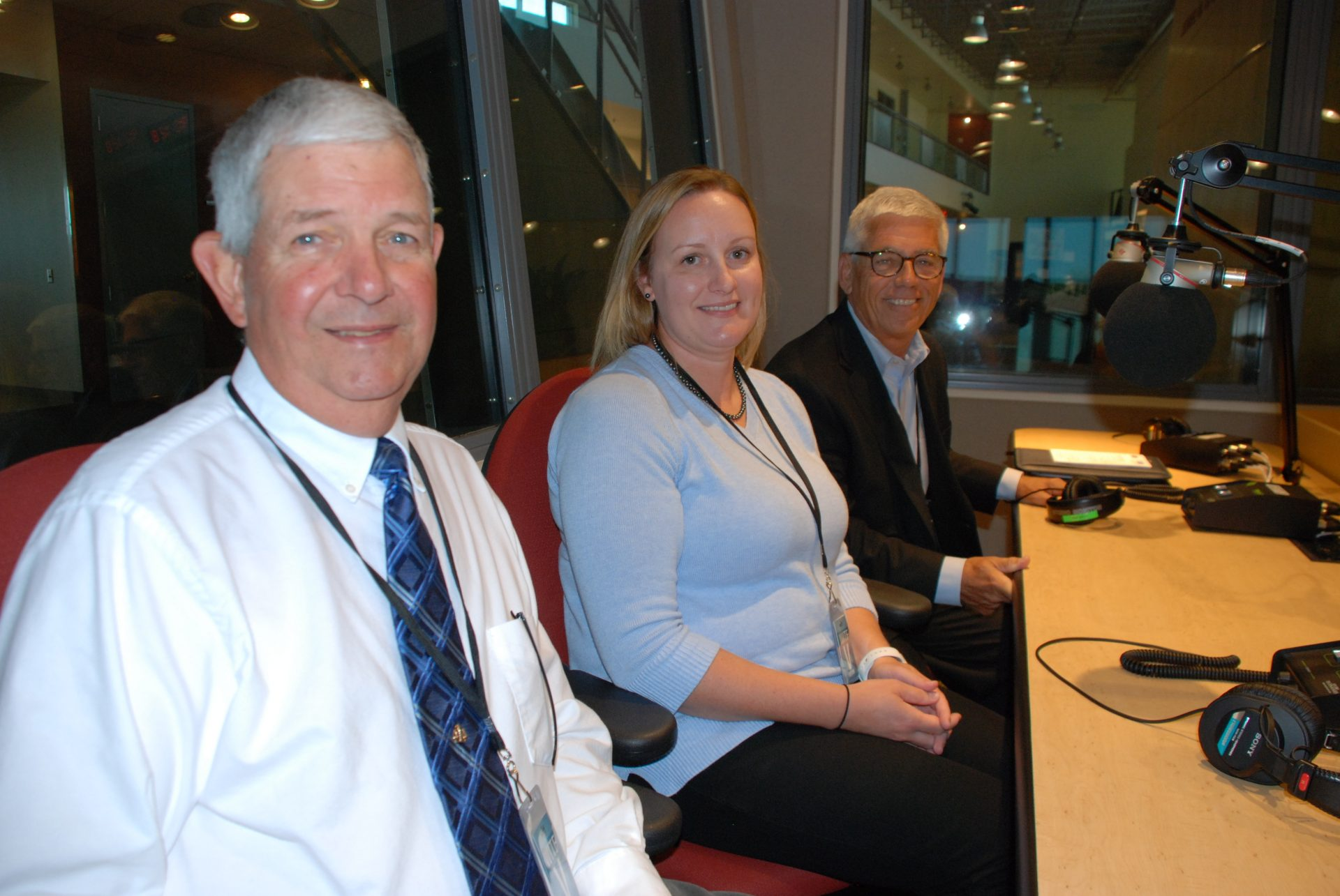 Judge Edward Guido, Jennifer DeBalko, and Art McNulty appear on Smart Talk on September 24, 2019.