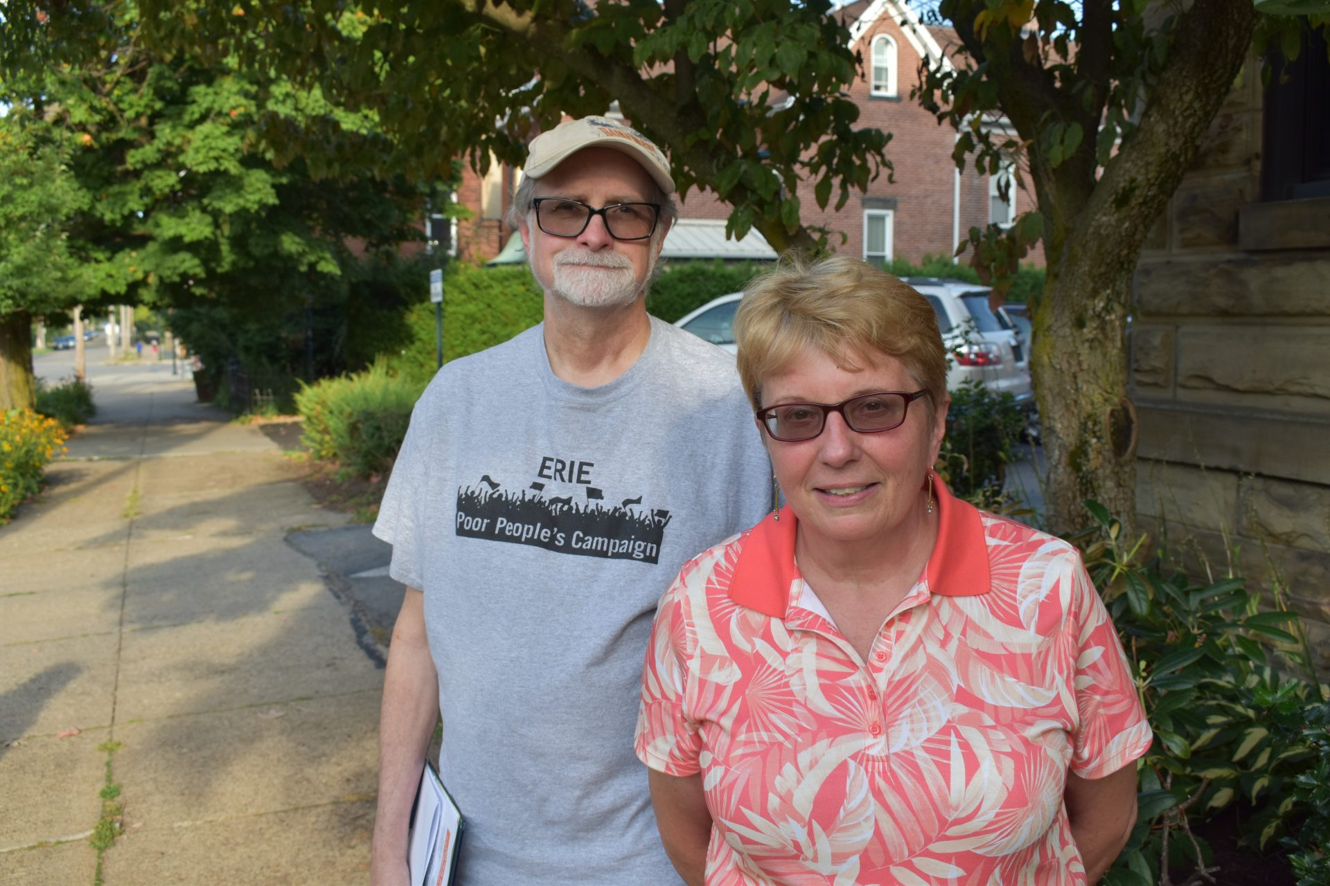 Art Leopold and Janice Etchison became members of Hold Erie Coke Accountable.