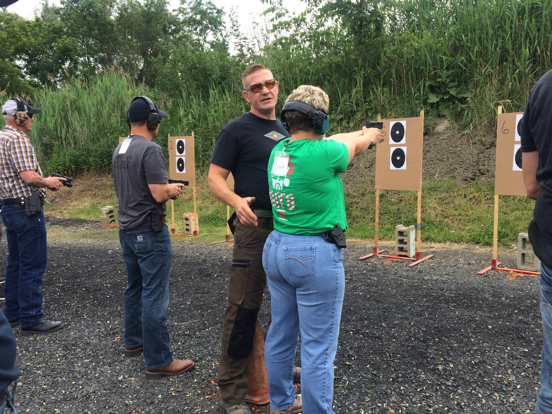 """""""I almost always carry a gun,"""" instructor Chris Cerino tells his students. """"You don't need permission to fight for your life."""""""