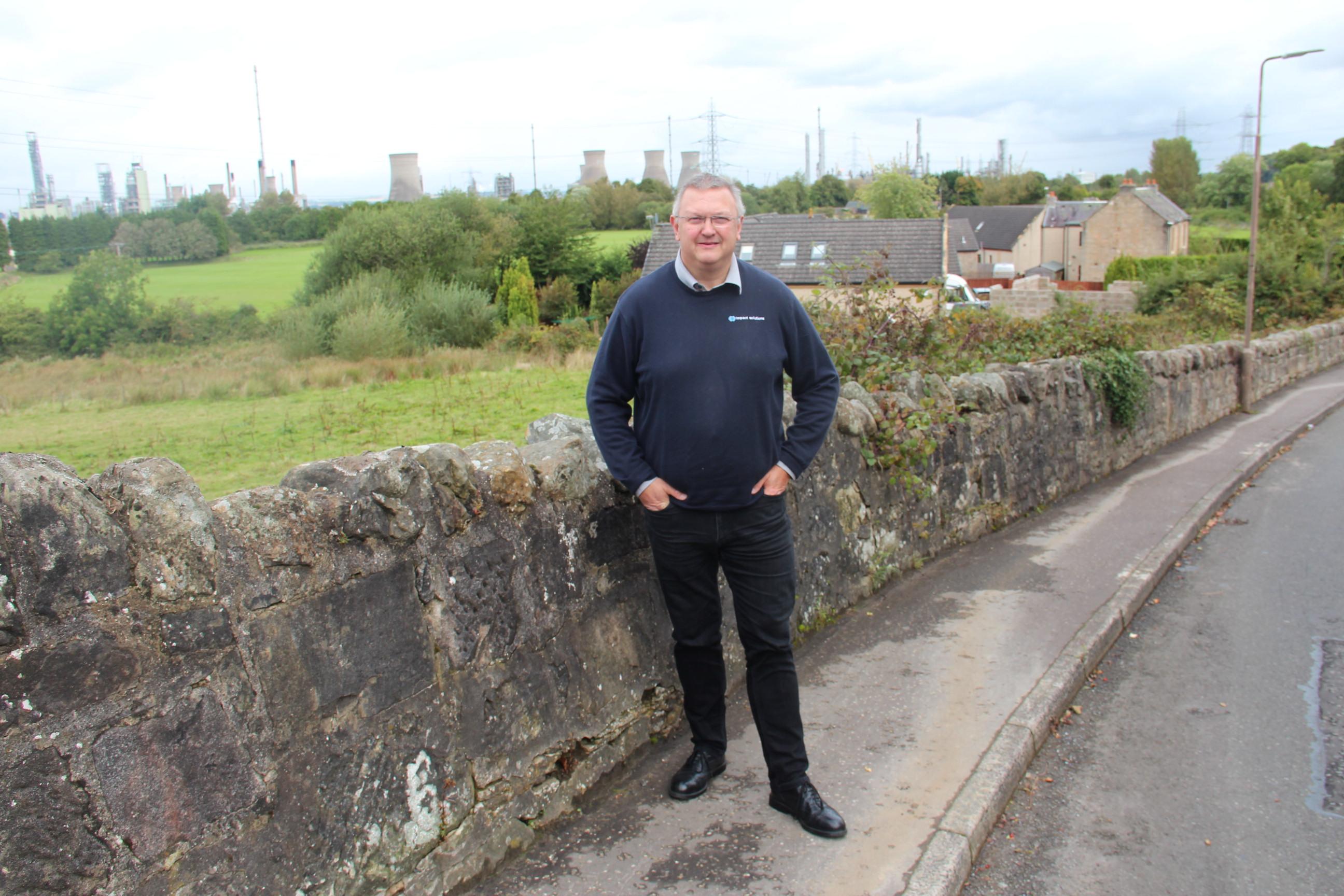 At Grangemouth refinery in Scotland, a plastics evangelist says U.S. shale gas is vital