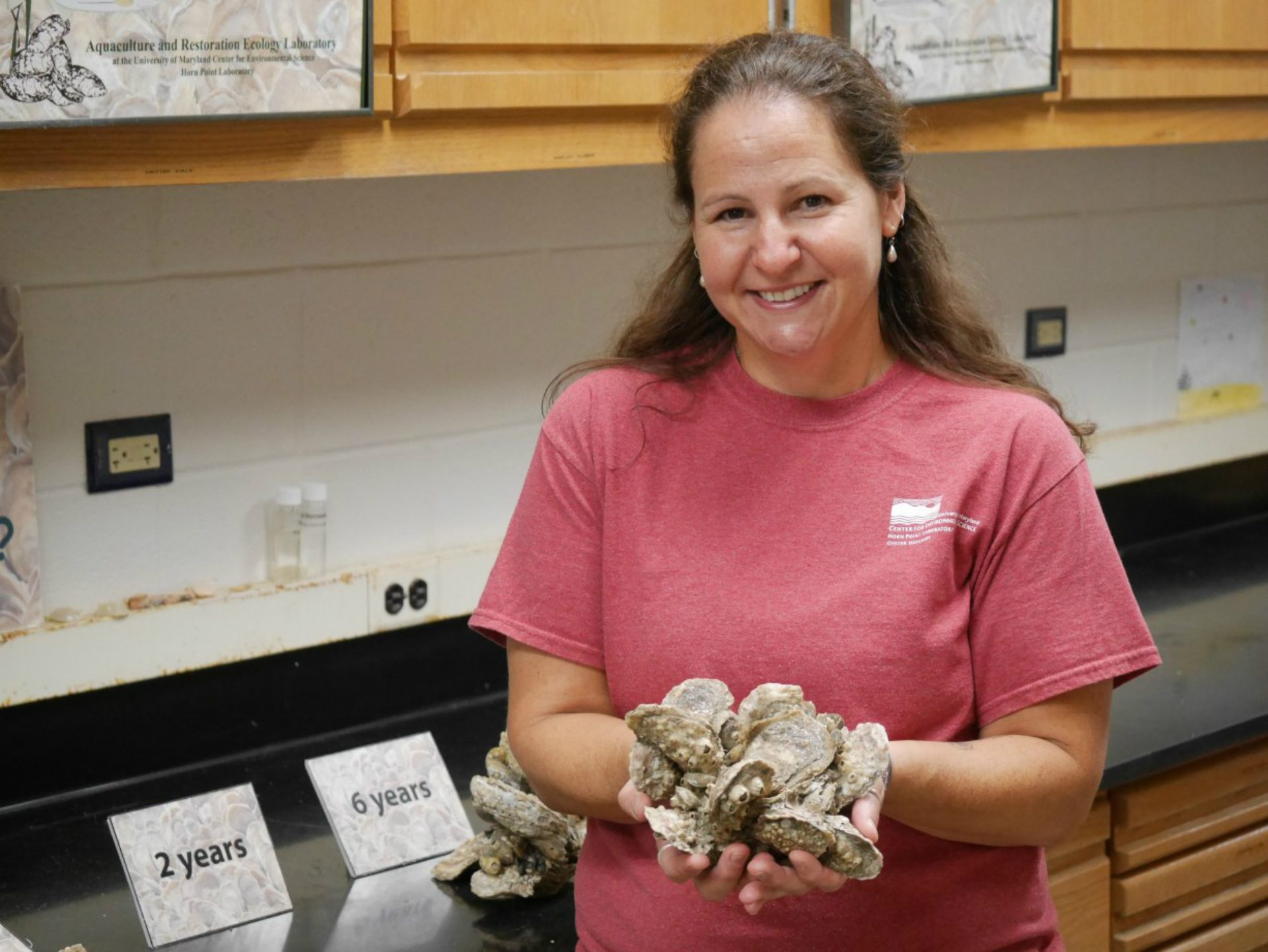 Stephanie Alexander manages the Horn Point Lab.