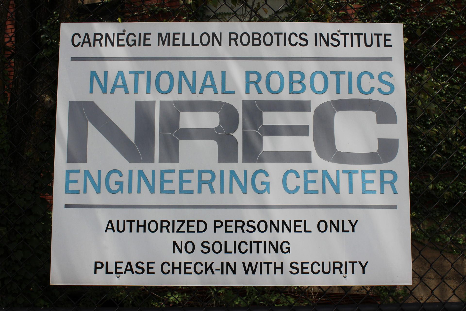 CMU has been working on a Project Maven initiative at the National Robotics Engineering Center in Lawrenceville.