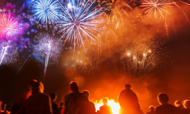 Fireworks are a holiday tradition and captivate crowds, but there are some environmental downsides. (Stock photo)