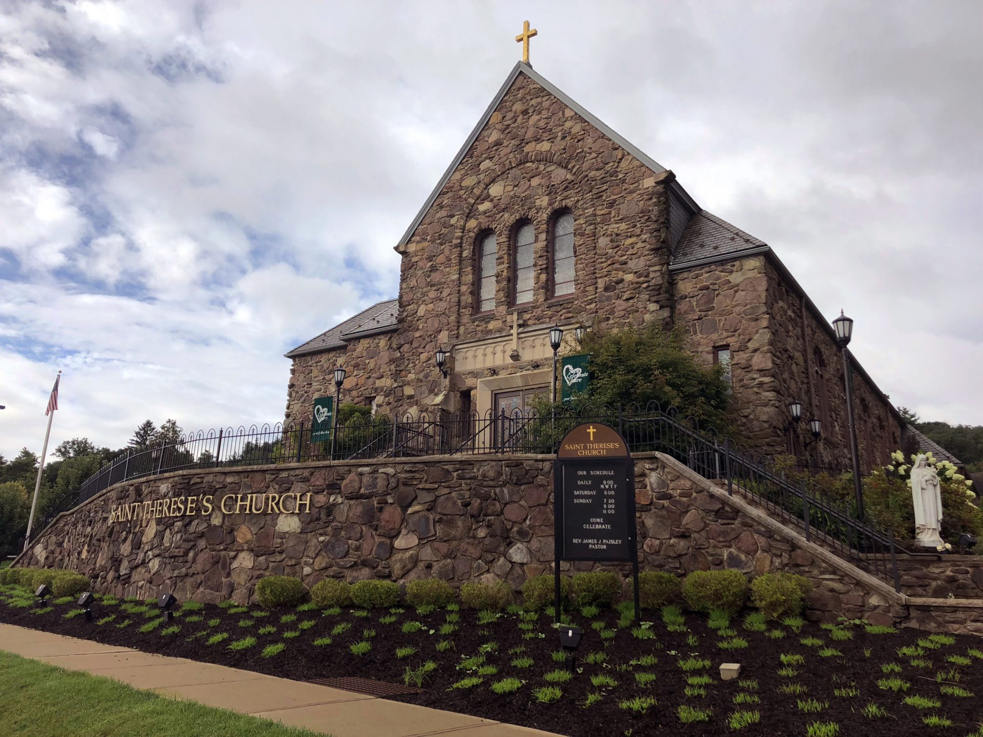 St. Therese's Church in Shavertown, Pa