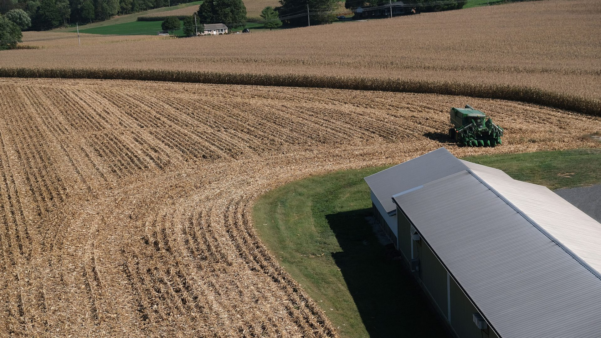 A look at the facility at Cairns Family Farm on Sept. 25, 2019, in Sadsbury Township, Pennsylvania.