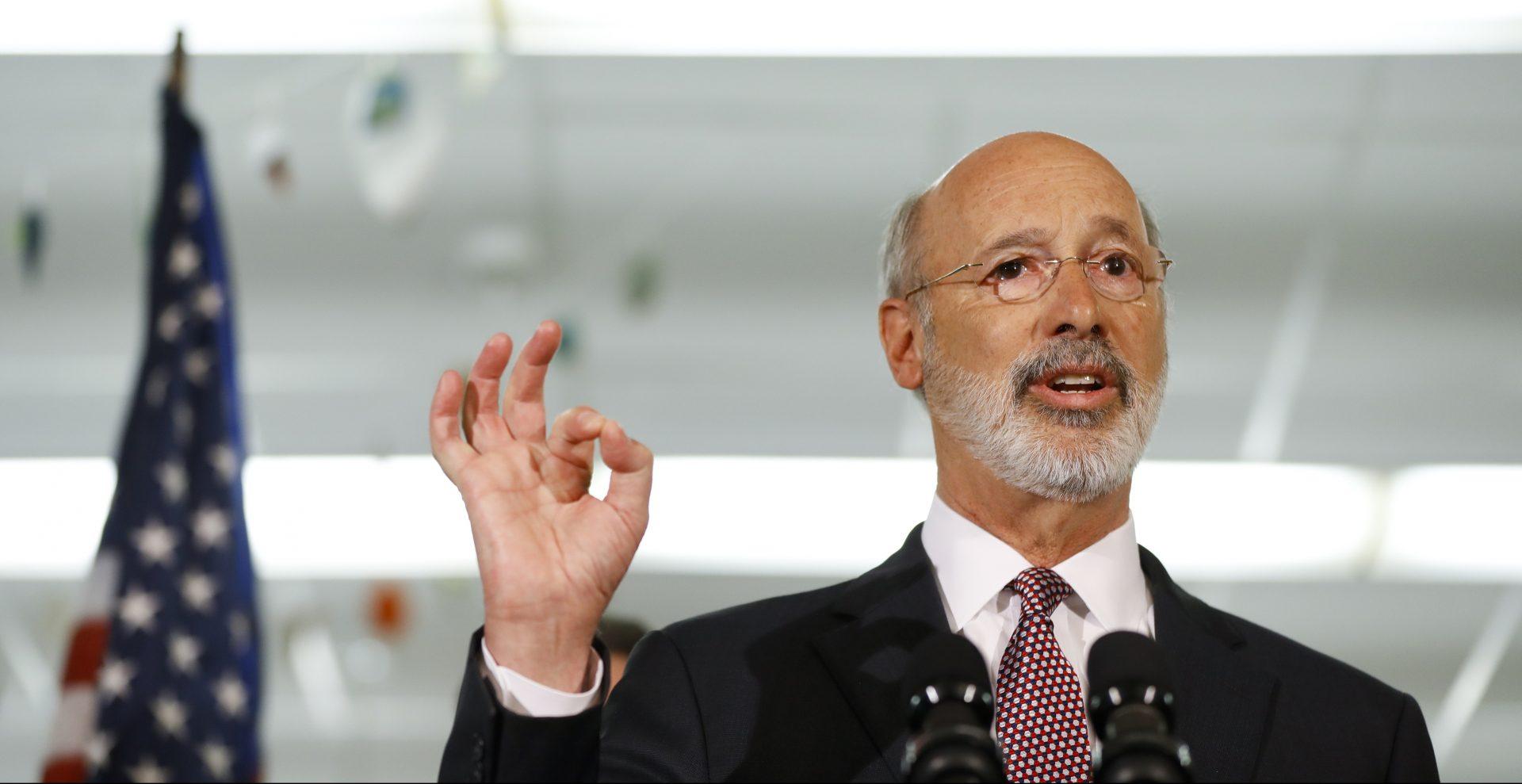 Wolf says he anticipates bipartisanship on workforce-strengthening plan   WITF