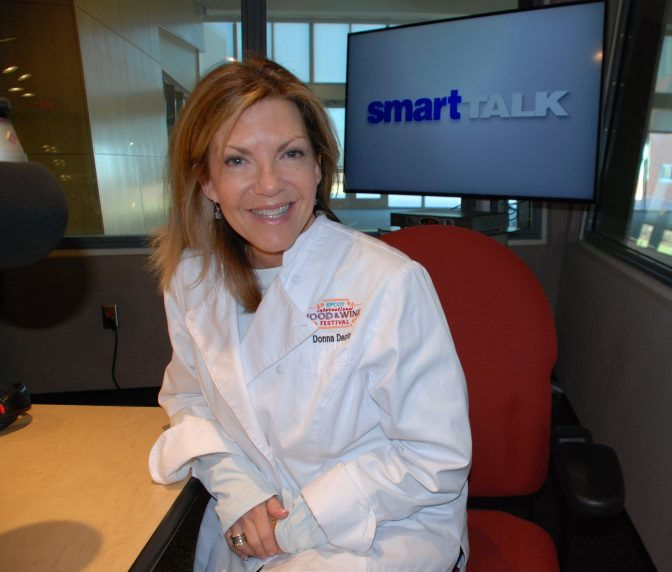 Chef Donna Desfor appears on Smart Talk on November 26, 2019.