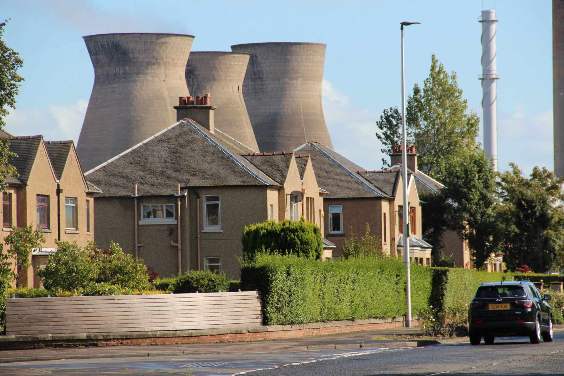The Grangemouth refinery and petrochemical plant in Grangemouth, Scotland. Photo: Reid R. Frazier