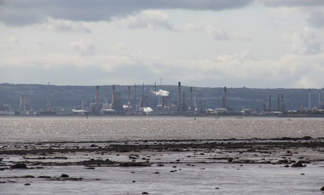 Ships carrying ethane from Pennsylvania sail the Firth of Forth, a river estuary emptying into the North Sea, to Grangemouth.
