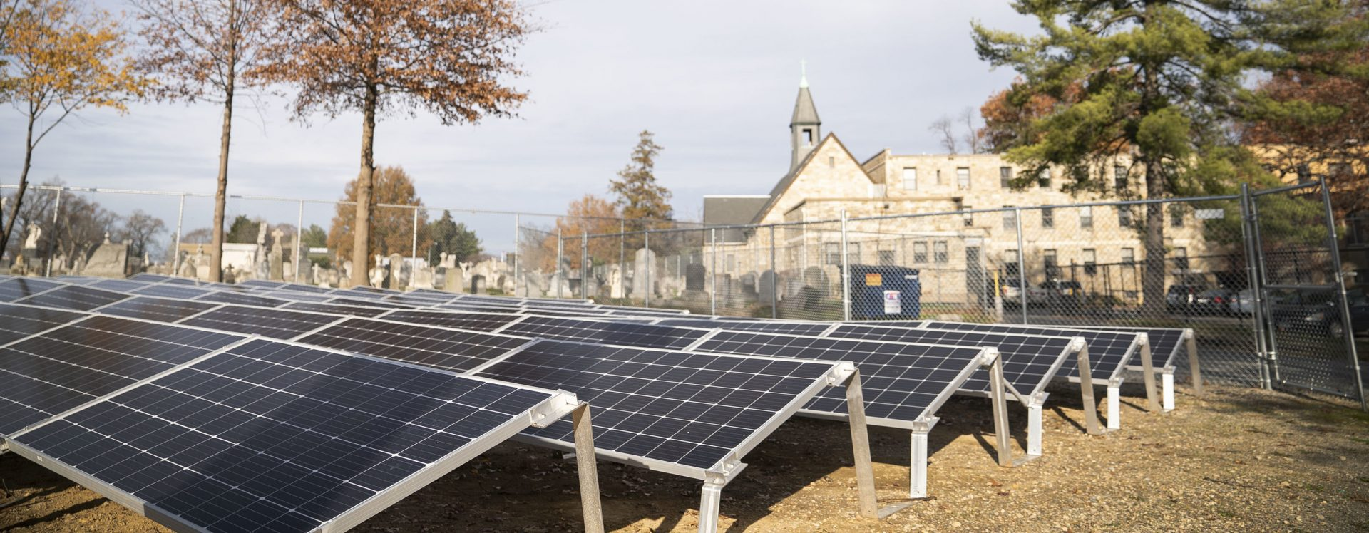 The Monastery of Our Lady of Mt. Carmel in Washington, D.C. is the new host of a 151 kW community solar garden. The panels will provide roughly 50 nearby households with green energy.
