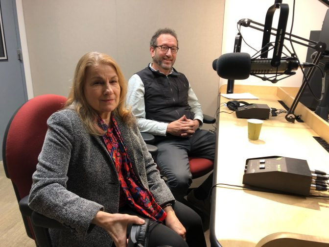 Dr. Patricia Likos Ricci and Dr. Curtis Minor appear in the Smart Talk studio on December 9, 2019.