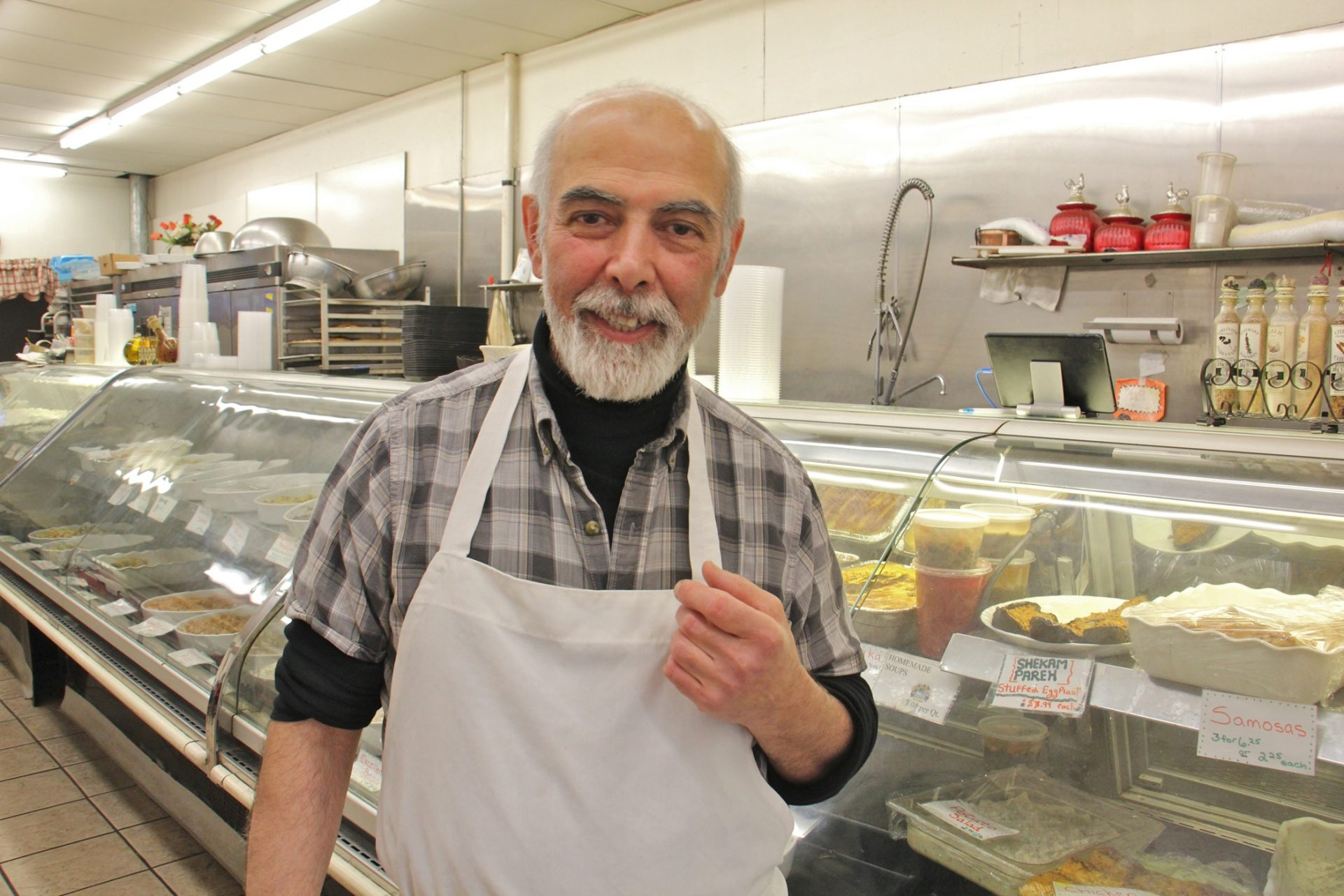 Fredoun Rashidian, 67, proprietor of the Caspian Grille in Lafayette Hill, came to the United States from Iran in 1979.