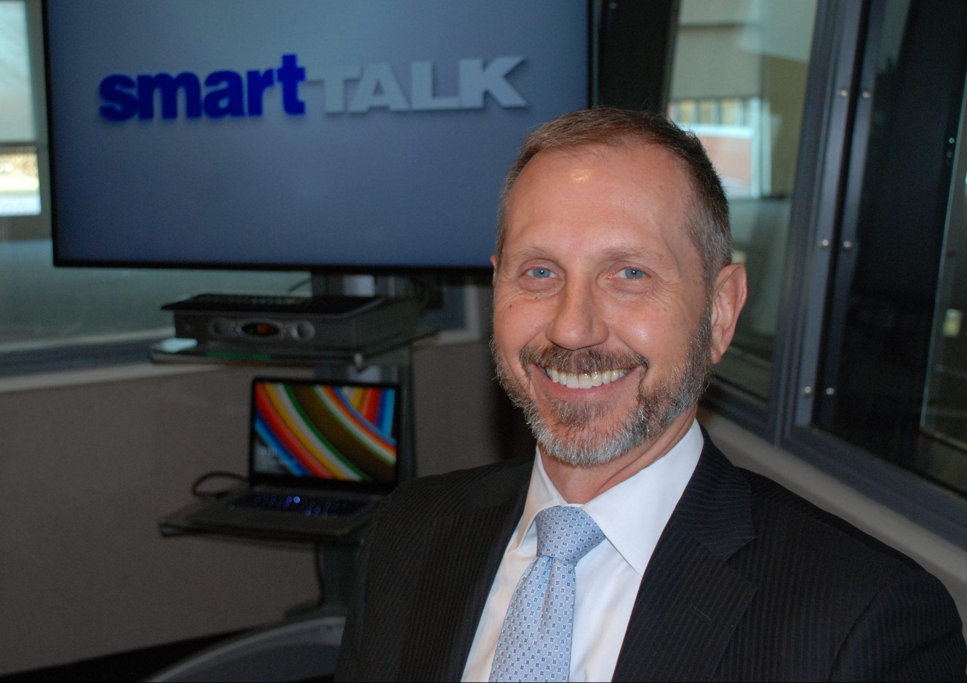 Berwood Yost appears on Smart Talk on January 30, 2020.