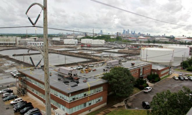 Philadelphia Energy Solutions refinery in South Philadelphia.