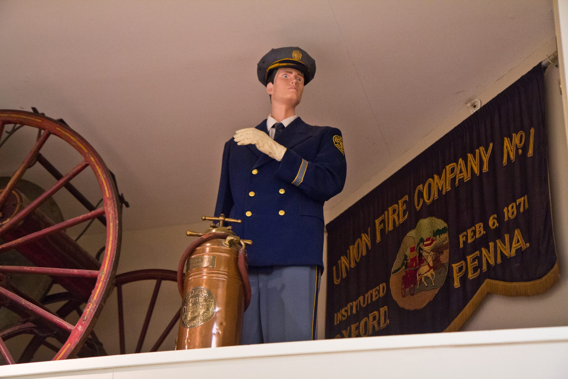 The Oxford fire company has been operating since 1871.