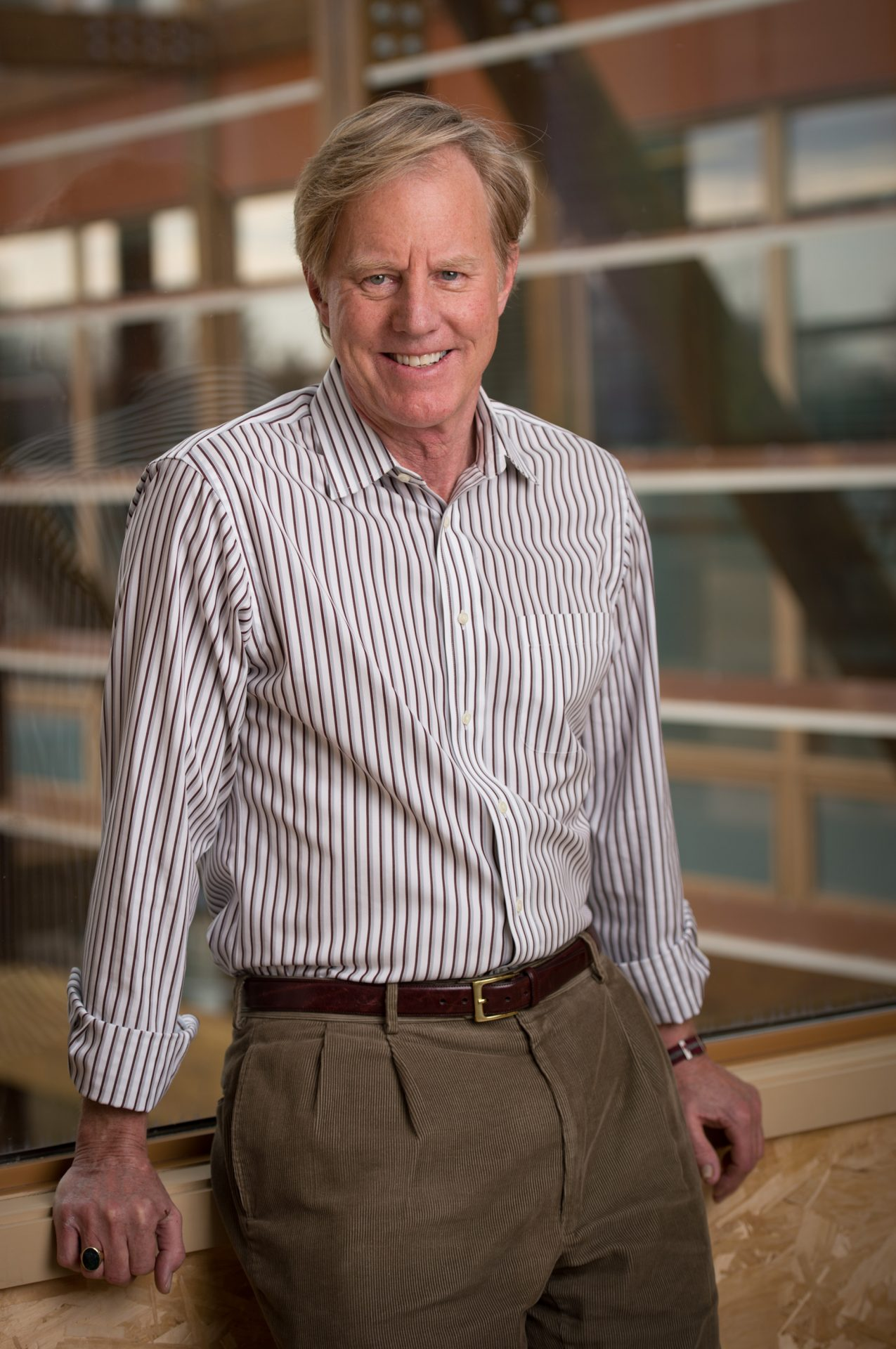 William C. Baker, President of the Chesapeake Bay Foundation, appeared on Smart Talk via phone call on February 10, 2020. Photo taken by Mike Busada.